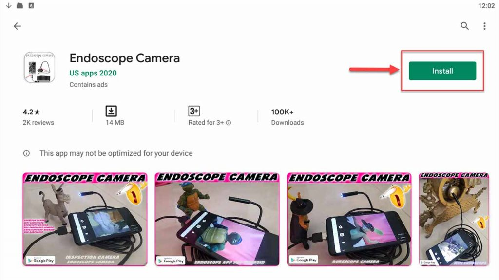 Download and Install Endoscope Camera app for PC (Windows 10/8/7)