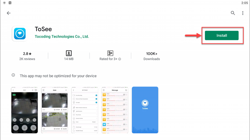 Download and Install ToSee app For PC (Windows 10/8/7)