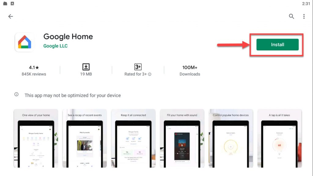 Download and Install Google Home app For PC (Windows 10/8/7)