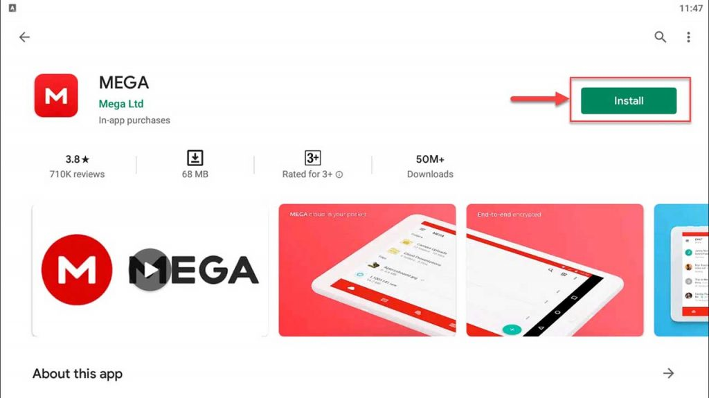 Download and Install MEGA app For PC (Windows 10/8/7)