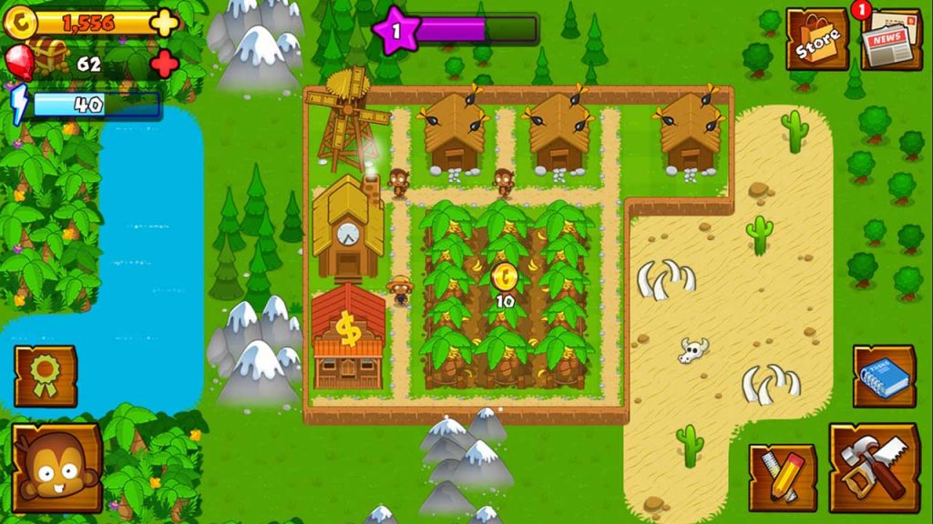 Play Bloons Monkey City on PC