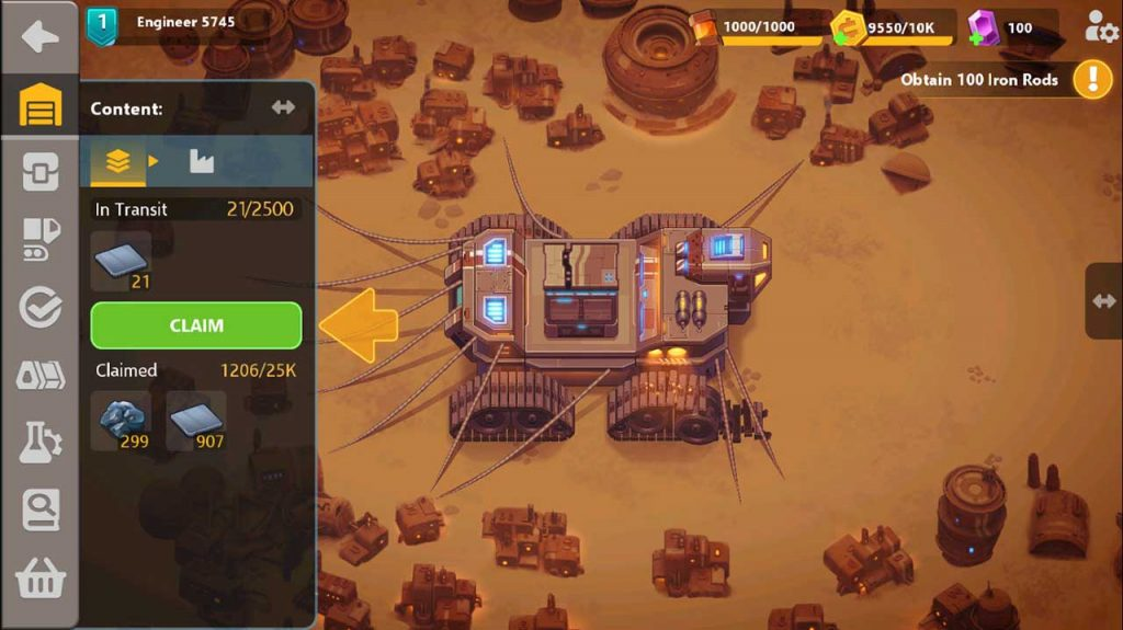 Play Sandship Crafting Factory on PC