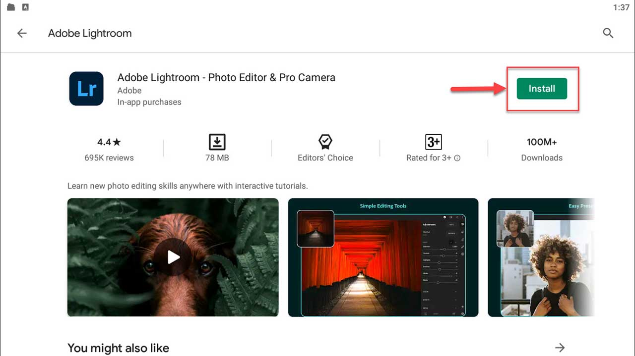Download and Install Adobe Lightroom For PC (Windows 10/8/7)