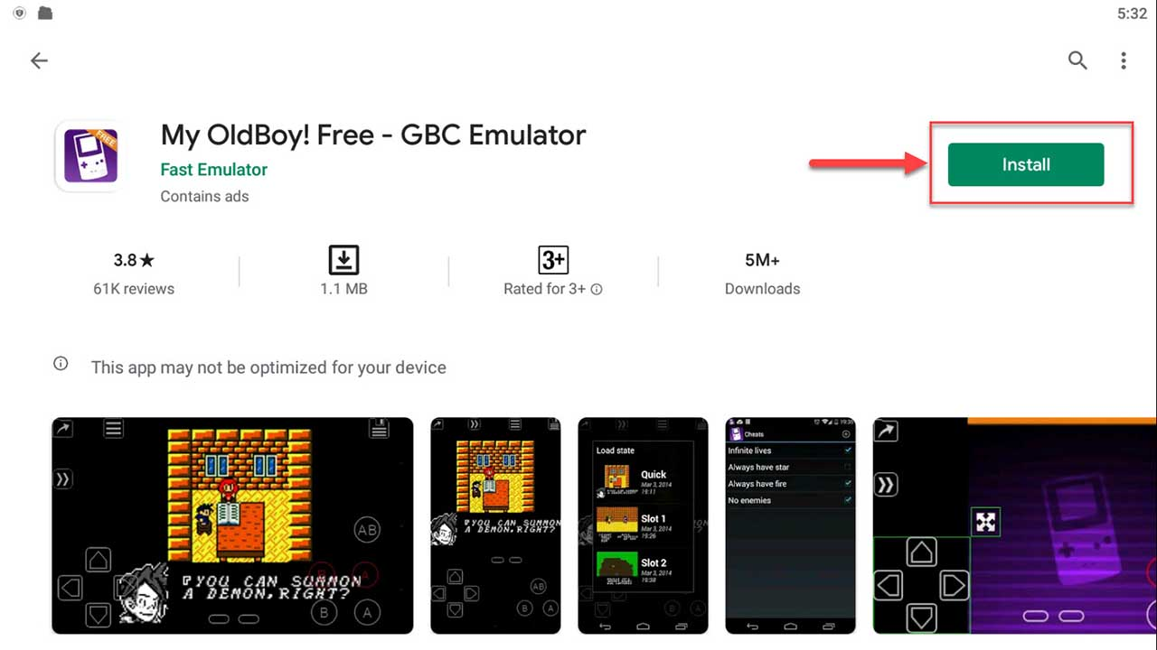 Download and Install My OldBoy! Free GBC Emulator For PC (Windows 10/8/7)