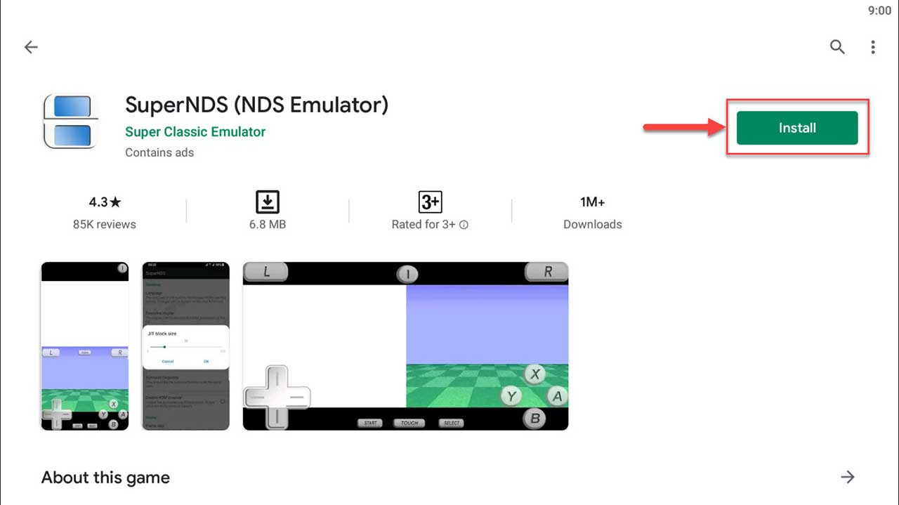 Download and Install SuperNDS (NDS Emulator) For PC (Windows 10/8/7)