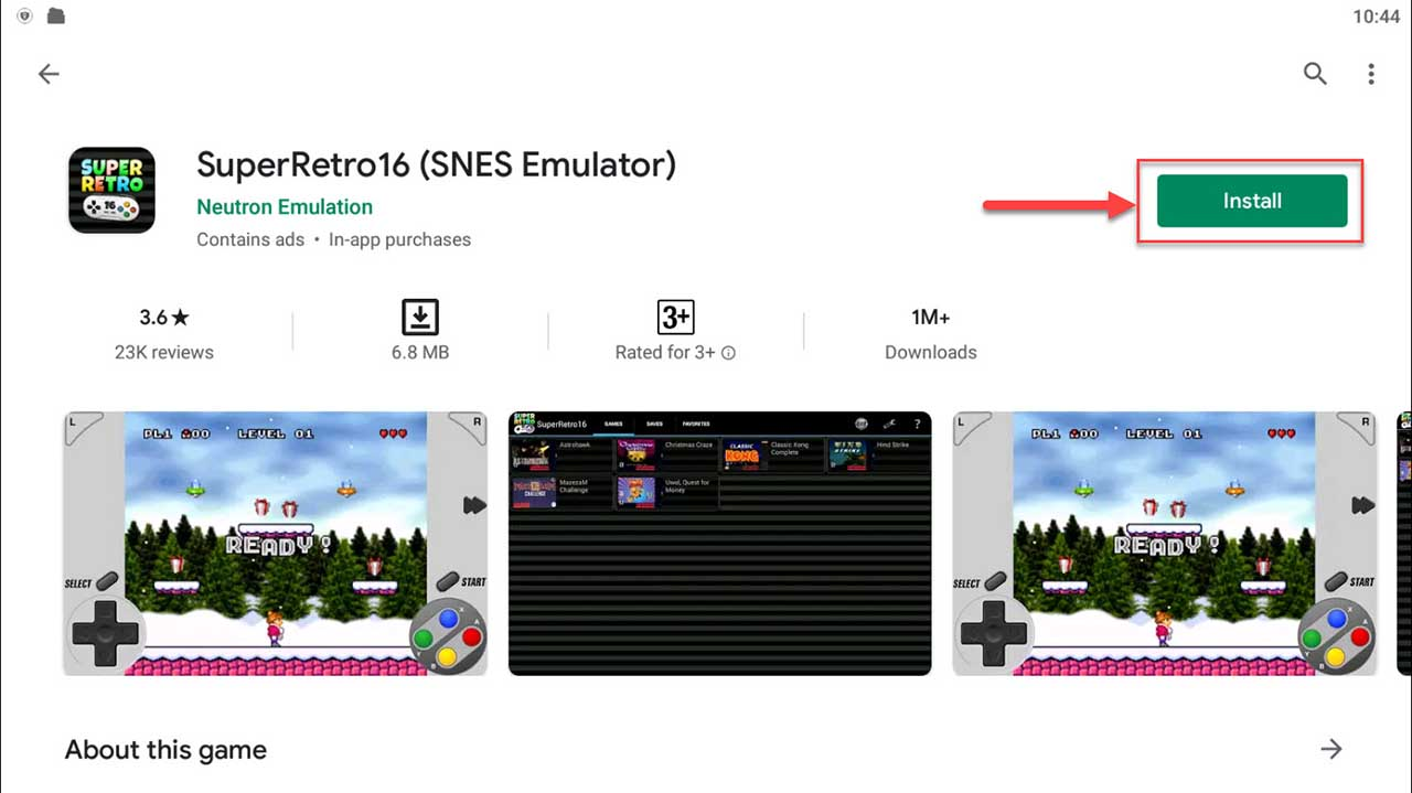 Download and Install SuperRetro16 (SNES Emulator) For PC (Windows 10/8/7)