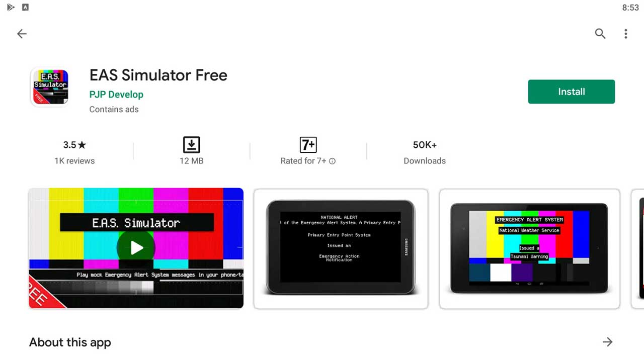 Download and Install EAS Simulator Free For PC (Windows 10/8/7)