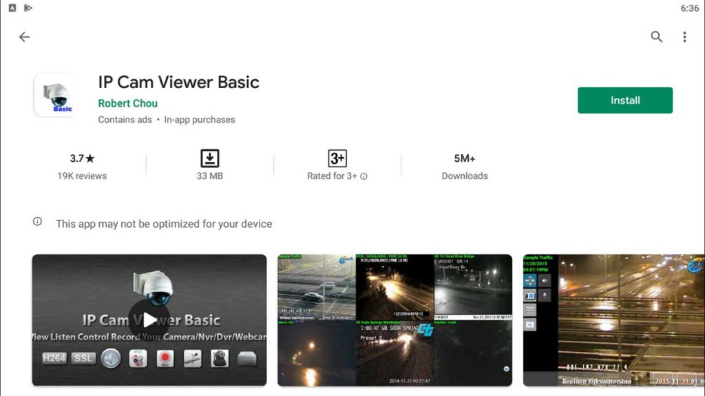 Download and Install IP Cam Viewer Basic For Windows 10/8/7