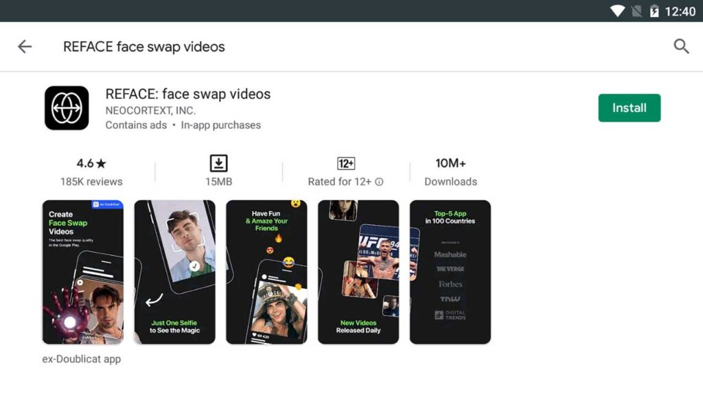 Download and Install REFACE face swap videos For PC (Windows 10/8/7)