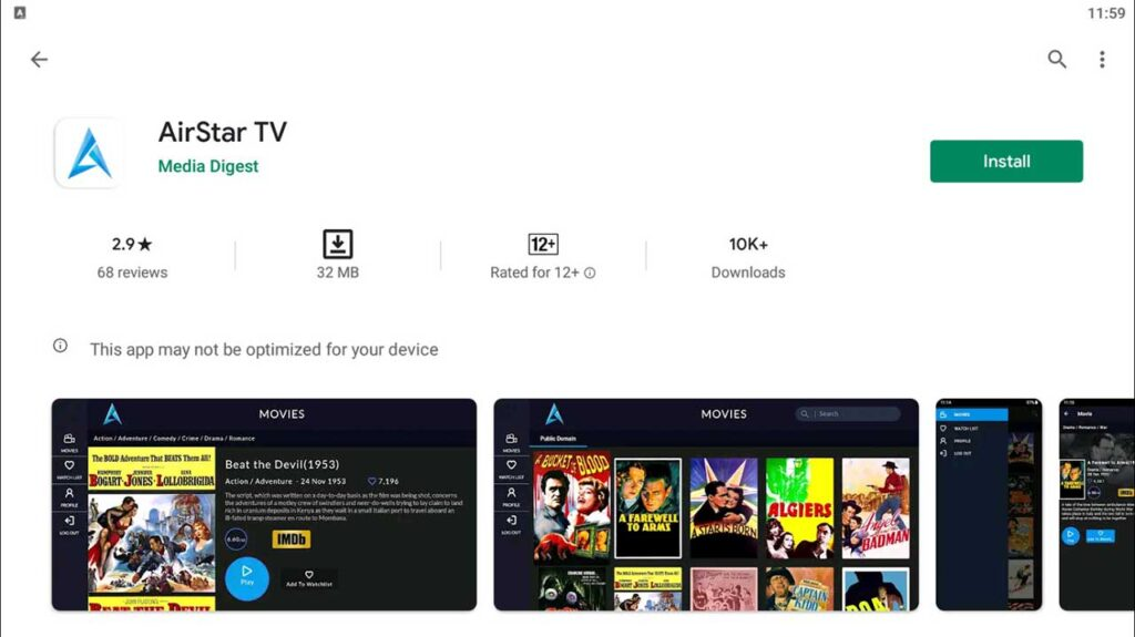 Download and Install AirStar TV For PC (Windows 10/8/7)