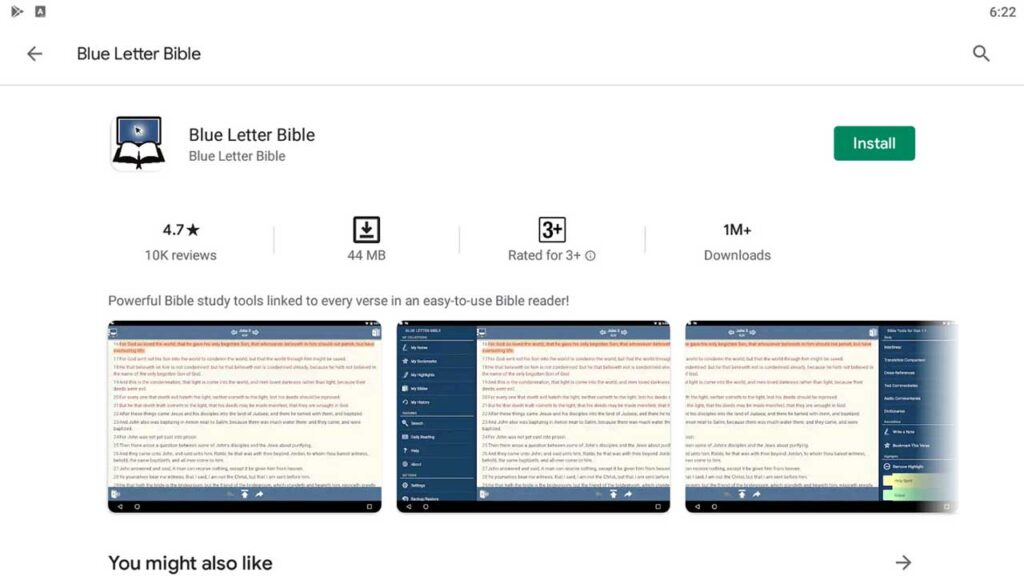 Download & Install Blue Letter Bible For PC
