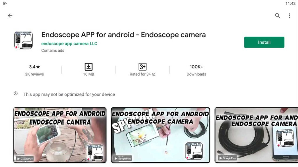 Download & Install endoscope app for android - endoscope camera usb For PC (Windows 10/8/7)