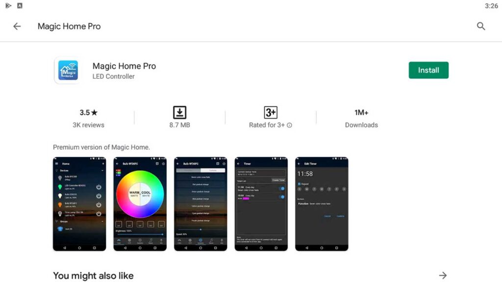 Download & Install Magic Home Pro For PC (Windows 10/8/7)