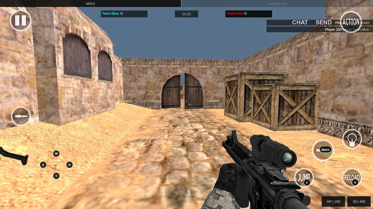 Play Bullet Team Force: Online FPS on PC