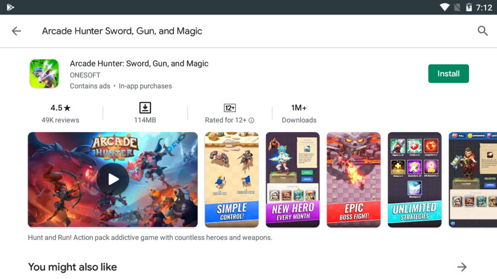 Download and Install Arcade Hunter Sword, Gun, and Magic For PC (Windows 10/8/7)