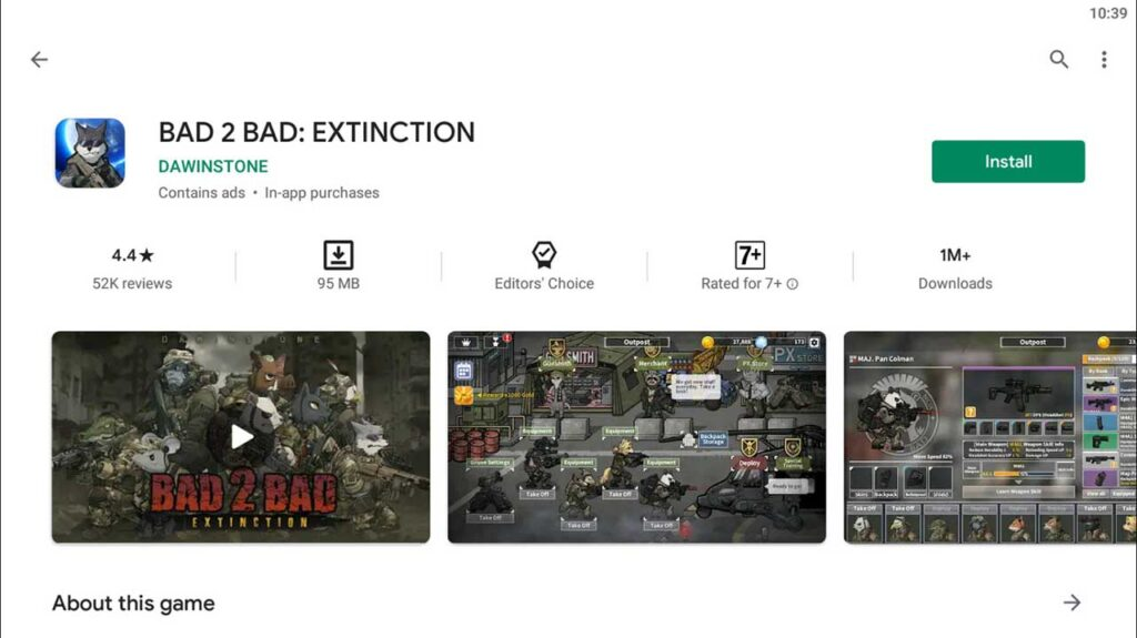 Download and Install BAD 2 BAD: EXTINCTION For PC (Windows 10/8/7)