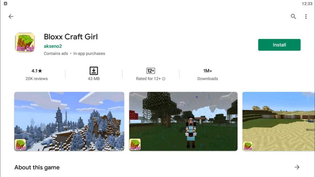 Download and Install Bloxx Craft Girl For PC (Windows 10/8/7)