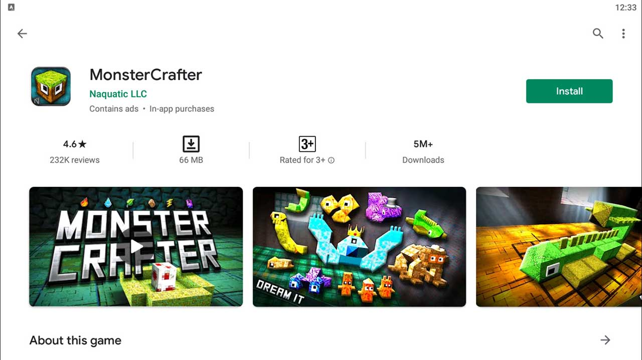 Download and Install MonsterCrafter For PC (Windows 10/8/7)
