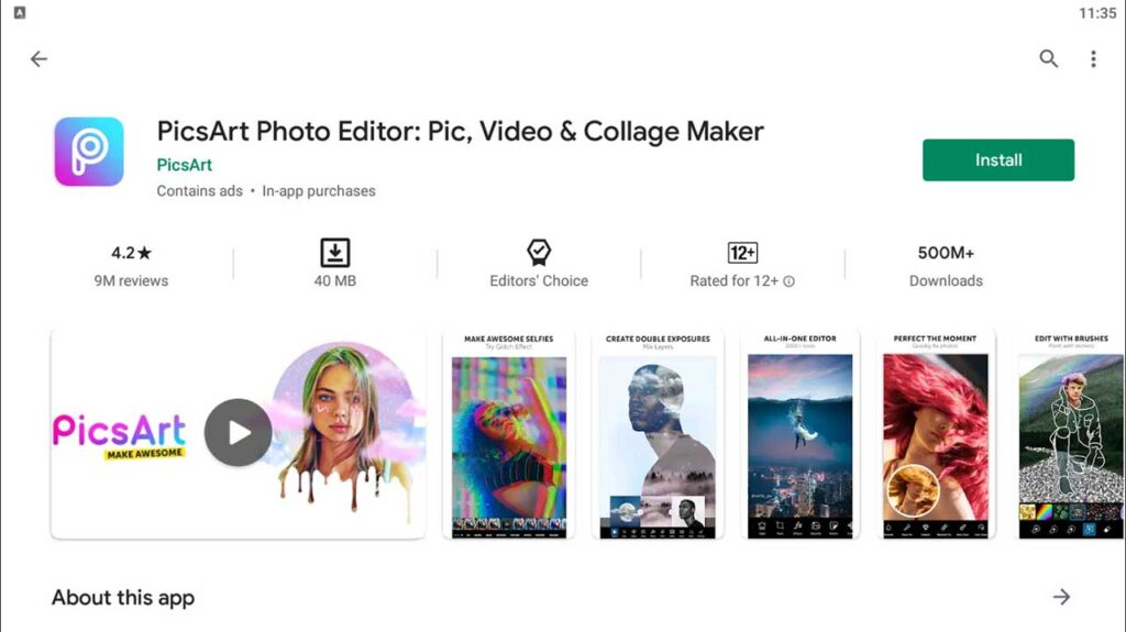 Download and Install PicsArt Photo Editor For PC (Windows 10/8/7)