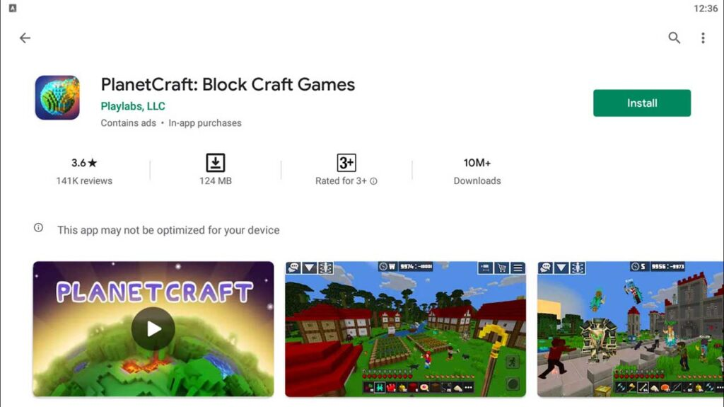 Download and Install PlanetCraft: Block Craft Games For PC (Windows 10/8/7)