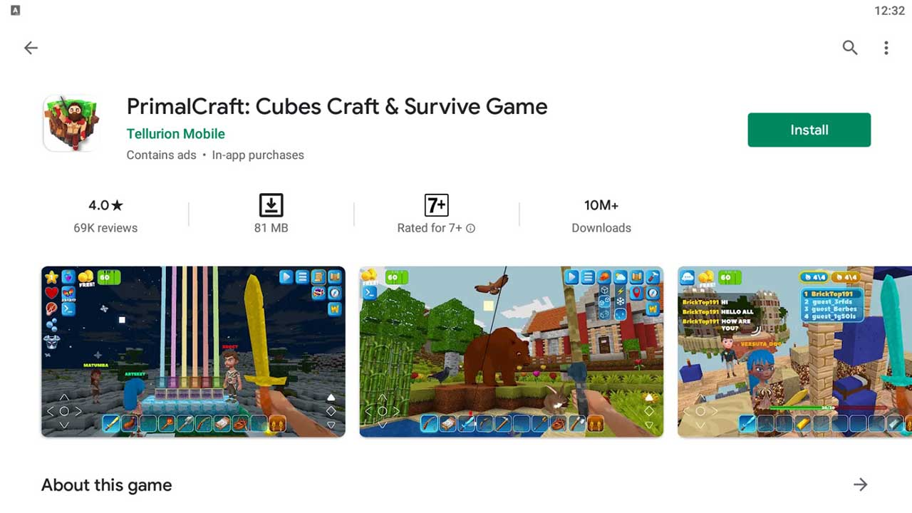 Download and InstallPrimalCraft For PC (Windows 10/8/7)