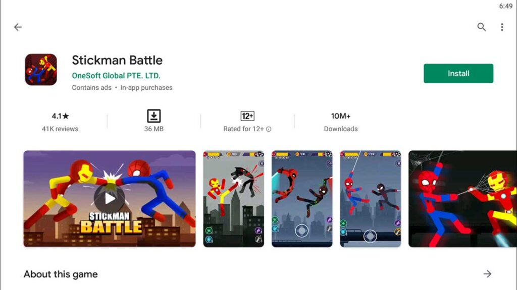 Download and Install Stickman Battle For PC (Windows 10/8/7)