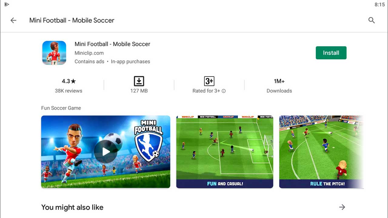 Download and Install Mini Football - Mobile Soccer For PC (Windows 10/8/7)