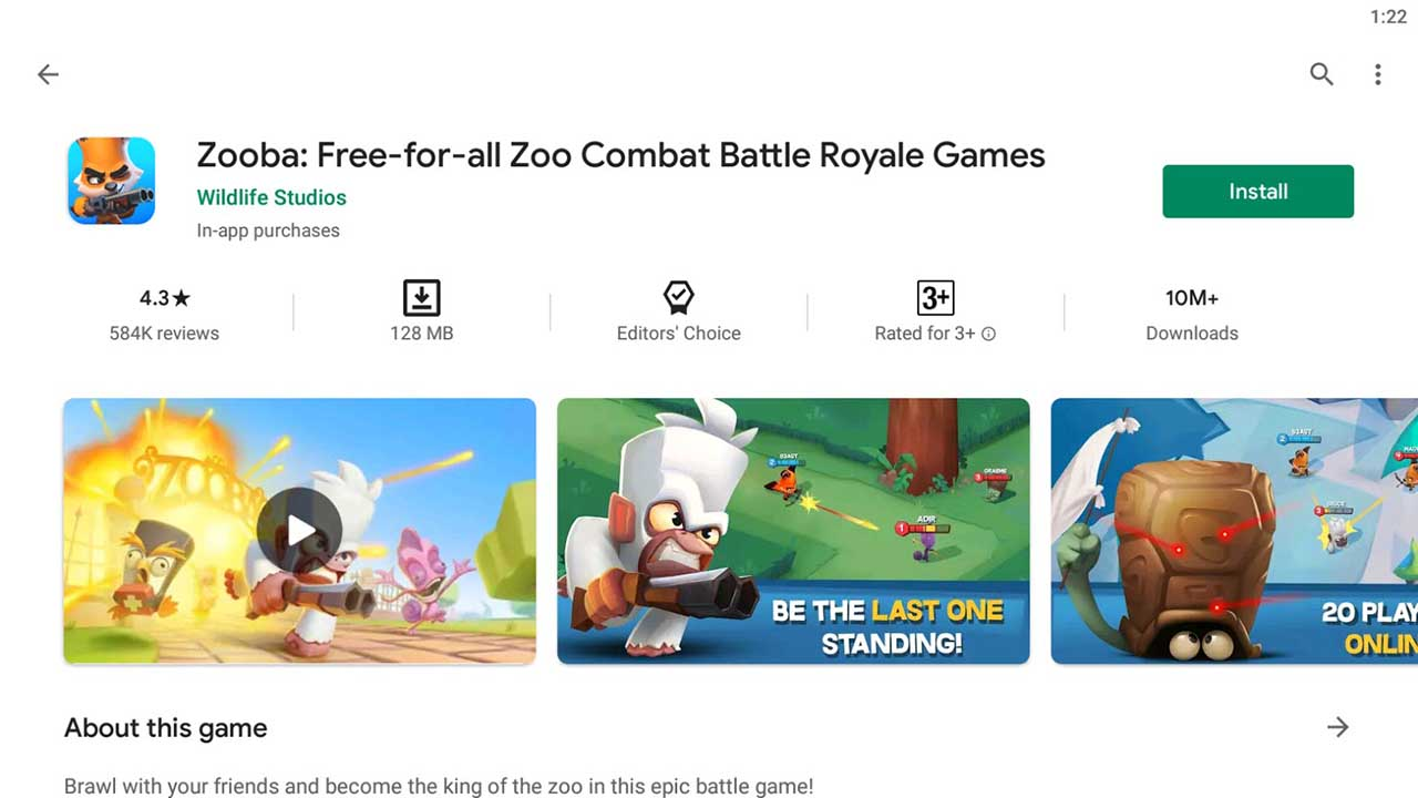 Download and InstallZooba For PC (Windows 10/8/7)